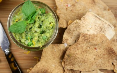 May Recipe of the Month: Smashed Pea Butter with Mint & Meyer Lemon