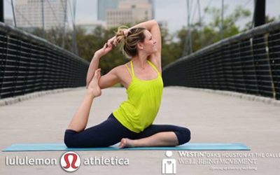 Complimentary Yoga Classes with DEFINE and lululemon athletica