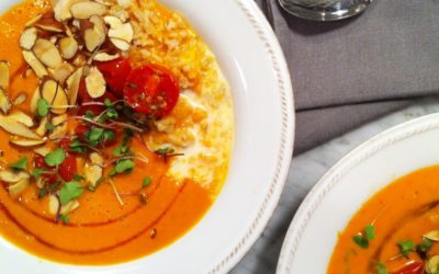 Recipe of the Month: Roasted Tomato Soup Bowl