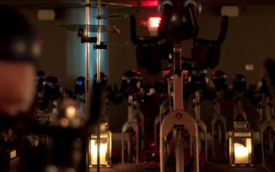 Sweating By Candlelight: DEFINErevolution puts a new spin on the old gym routine