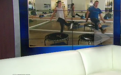 Make Fitness Fun with a Trampoline Workout