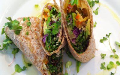 Veggie Crunch Wrap