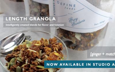 Introducing DEFINE Length Granola